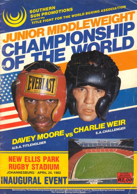 Charlie Weir vs Davey Moore