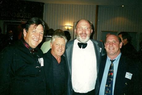 Jeff Ellis, Andries Steyn, Jimmy Richards and Gert Steyn.