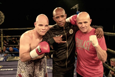 Julian Cooke, Thomson Mokoene and Anton Gilmore