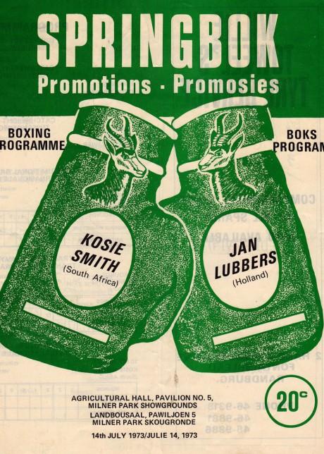 KOSIE SMITH VS JAN LUBBERS