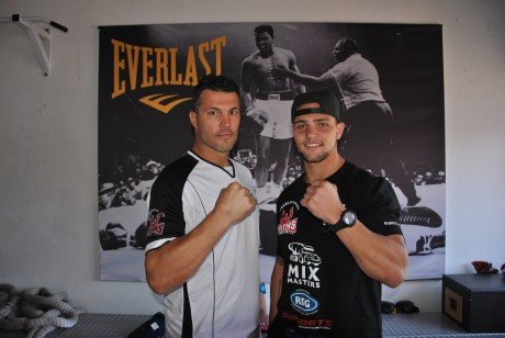 Peter Smith and Kevin Lerena