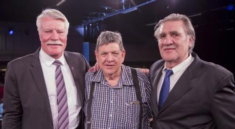 Pierre Coetzer, Jeff Ellis and Gerrie Coetzee