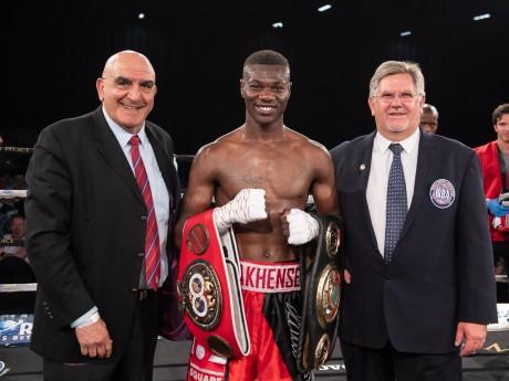 Jabulani Makhense (WBA Champion) vs Marios Matamba (IBF Champion