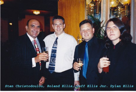 Stan Christodoulou, Roland, Jeff Jnr. and Dylan Ellis