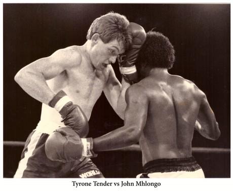 Tyrone Tender vs John Mhlongo
