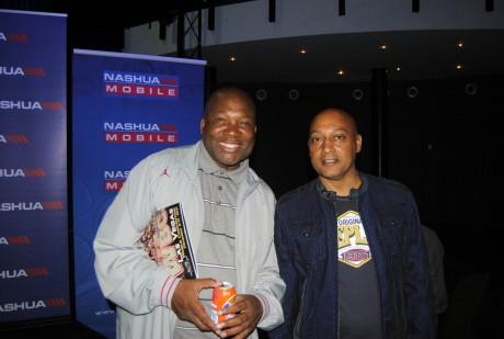 Loyiso and Bernie