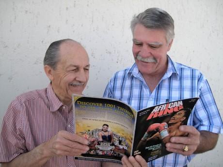 Pierre Coetzer and Ron Jackson
