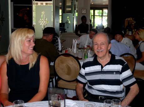 Ron Jackson and Julie van Wyk