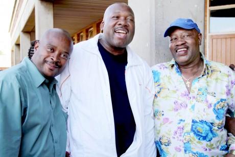 Simon, Loyiso & Archie
