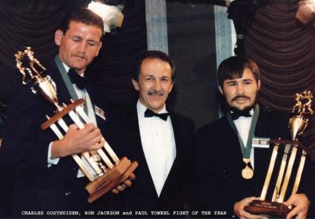 charles oosthuizen, ron jackson and paul toweel