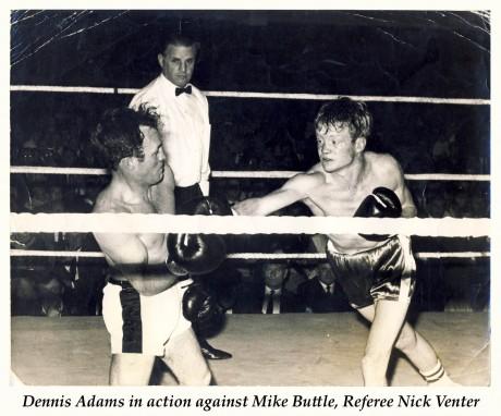 Dennis Adams vs Mike Buttle
