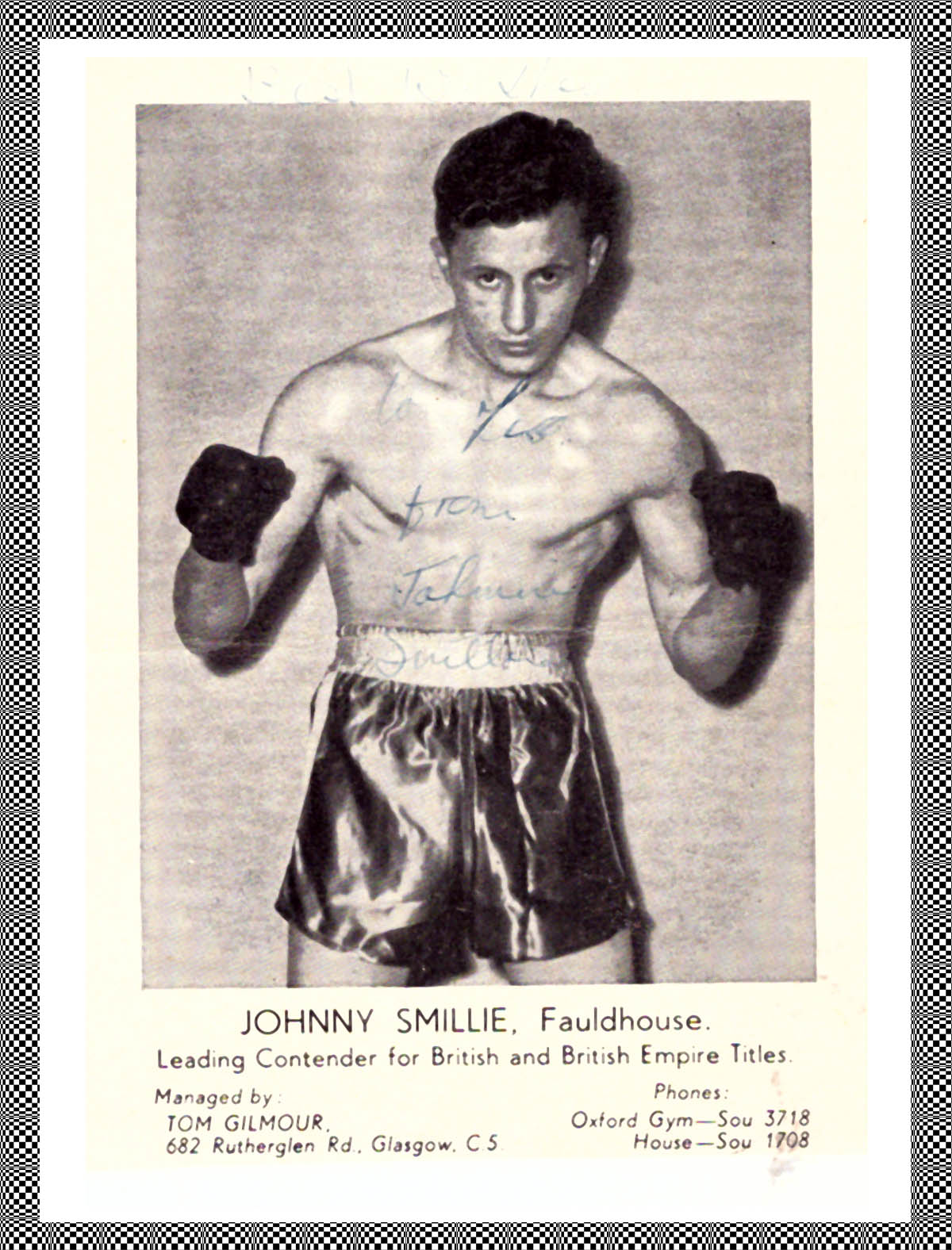 Johnny Smillie - African Ring