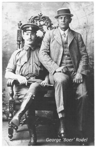 George Boer Rodel on the right